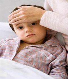 پایین آوردن تب کودکان