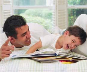 حضور مردان در کنار فرزندان آنان را شاد می کند