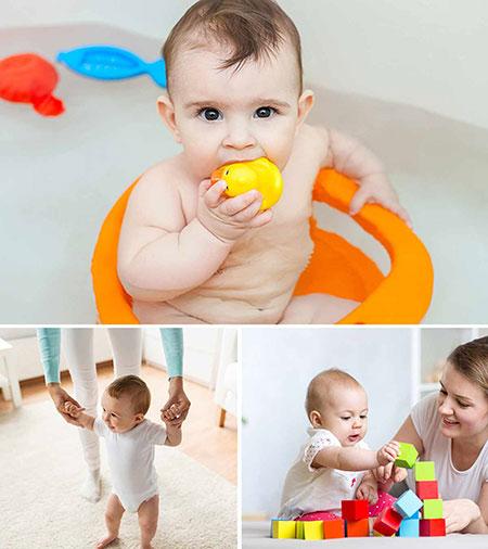 نوزاد 6 ماهه،عکس نوزاد 6 ماهه،خصوصیات نوزاد 6 ماهه
