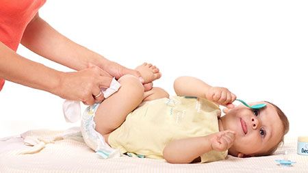 مدت زمان تعویض پوشک نوزاد,تعویض پوشک نوزاد,درمان حساسیتهای پوستی