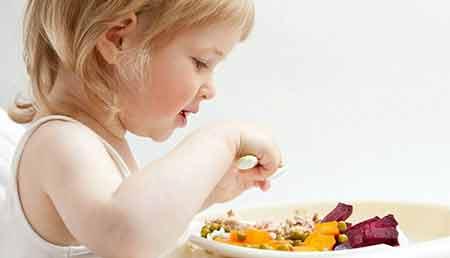 فهرستی از مواد مغذی برای بچه ها