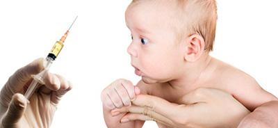 التیام جای واکسن نوزاد