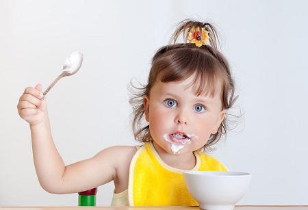 مصرف ماست برای کودکان, مصرف ماست برای کودکان 7 ماه, ماست برای کودکان زیر یکسال