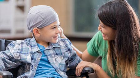 رفتار با کودکان سرطاني,طرز رفتار با کودکان سرطاني,رفتار والدين با کودکان سرطاني