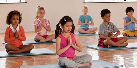 مزیت یوگا برای کودکان, یوگا برای کودکان