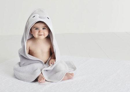 حوله نوزاد,حوله نوزادی,حوله ی نوزاد