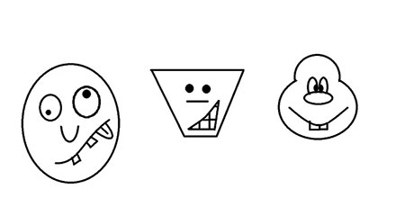 نقاشی چهره های کارتونی,آموزش کشیدن چهره کارتونی,کشیدن چهره کارتونی