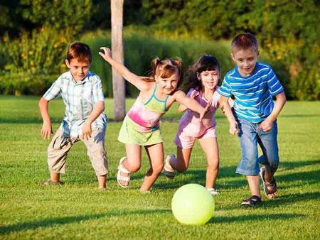 فعاليت بدني کودکان,فعاليت جسماني کودکان,فعاليت کودک