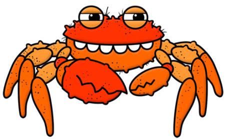آموزش کشيدن نقاشي خرچنگ,نقاشي خرچنگ,آموزش کشيدن نقاشي به کودکان