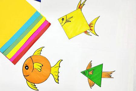 عکس محصول آموزش کشیدن نقاشی با اشکال هندسی