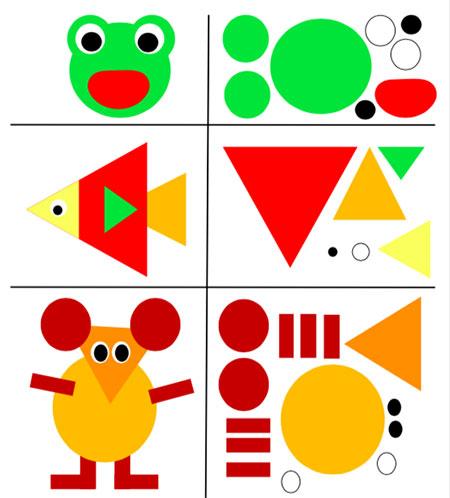 آموزش کشیدن نقاشی با اشکال هندسی,کشیدن نقاشی با اشکال هندسی