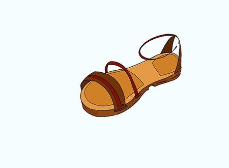 آموزش کشيدن نقاشي کفش,نقاشي کفش,آموزش کشيدن کفش زنانه