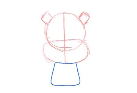 نقاشی سنجاب,آموزش کشیدن سنجاب,نقاشی کودک