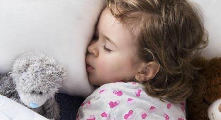 غذای کودکان,میزان خواب کودک 2 تا 1 و 3 سال,میزان خواب کودکان