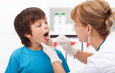 اپی گلوتیت, تشخیص بیماری اپی گلوتیت,کودک بیمار