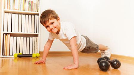 علاقمند کردن بچه ها به ورزش, راههای علاقمند کردن بچه ها به ورزش,ورزش کردن کودک