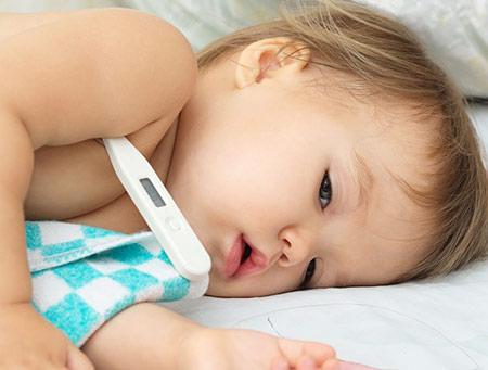 راههای ارزیابی تب کودک,تب کودک,تب کردن کودکان