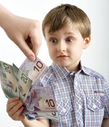 آموزش مباحث مالی به کودکان در سن های مختلف