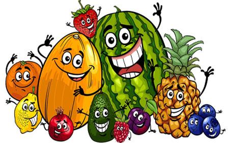 شعر درباره ی میوه ها,شعر کودکانه,تغذیه کودک