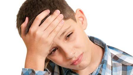 دلایل سر درد در کودکان
