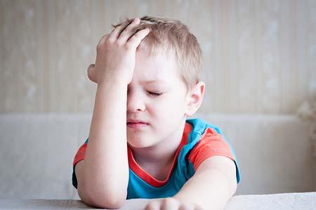 سردرد در کودکان + علل