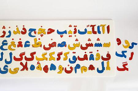 آموزش حروف الفبا,آموزش حروف الفبا فارسی,آموزش حروف الفبا به کودکان