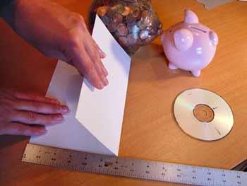 روکش کاغذی برای cd