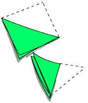 شرشره کاغذی - کاردستی