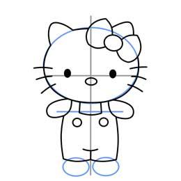 طراحی شخصیت کارتونی kitty خرس زیبا و مهربون
