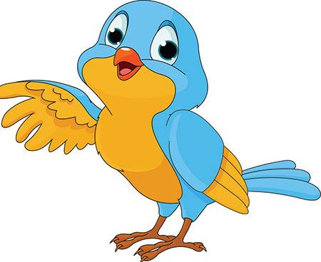 پرنده دوست داره (شعر کودکانه)