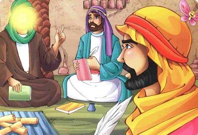شعر کودکانه امام جعفر صادق (ع)
