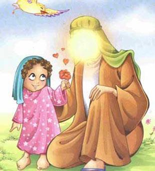 شعر کودکانه درباره ولادت امام جواد(ع),شعر کودکانه در مورد امام محمد تقی(ع),نقاشی کودکانه