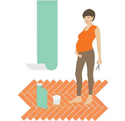 لباس بارداری مجلسی