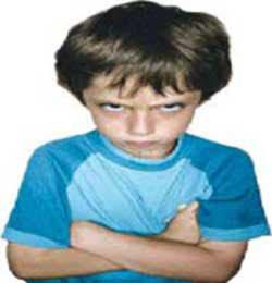 لجاجت و کج خلقی در کودکان: هیجانی ، لجبازی