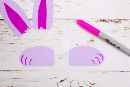 کاردستی خرگوش,آموزش ساخت کاردستی خرگوش,ساخت کاردستی خرگوش با مقوا