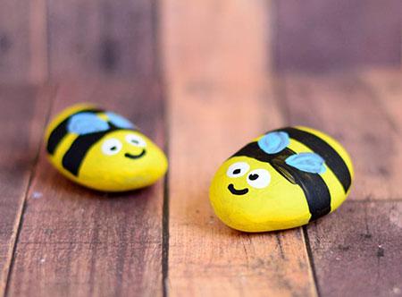 زنبور عسل سنگی,مراحل ساخت زنبور سنگی,طریقه ساخت زنبور عسل سنگی