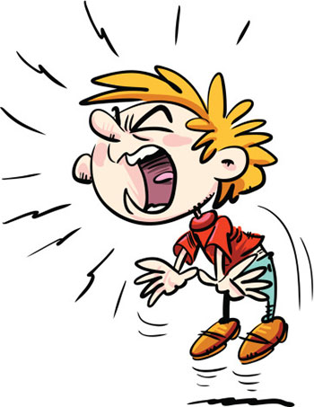 جیغ زدن کودک,علت جیغ زدن کودک 2 ساله,دلایل جیغ زدن کودک چیست