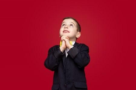 دعا به کودکان, نحوه آموزش دعا خواندن به کودک, آموزش شکرگزاری به بچه ها