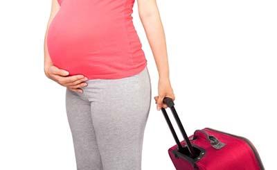 ماه آخر بارداری