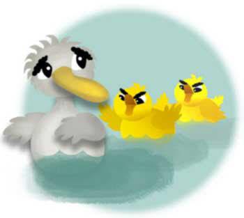 قصه جوجه اردک زشت
