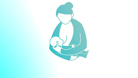 پوزیشن های مختلف شیردهی,انواع حالات شیردهی,شیردهی ضربدری