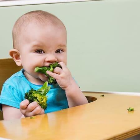 زمان شروع سبزیجات برای تغذیه نوزادان, میزان مصرف سبزیجات به نوزاد, سبزی هایی که می توان به سوپ کودک اضافه کرد