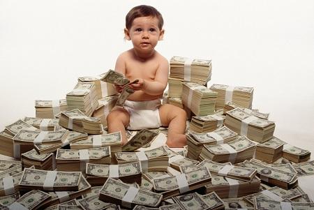 عوارض سندروم ثروت در کودکان, ریکوپاتی, علایم سندروم ثروت در کودکان