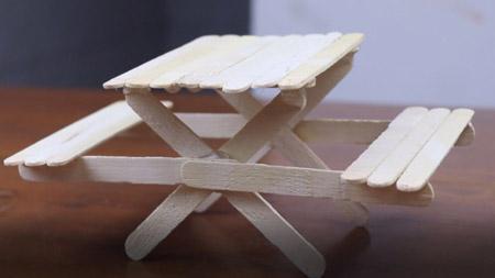 کاردستی با چوب,انواع کاردستی با چوب,کاردستی با چوب با ایده های خلاقانه