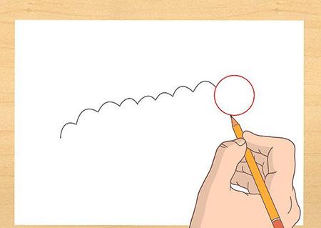 آموزش کشیدن نقاشی کرم تصاویر