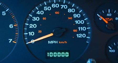 صفحه کیلومتر شمار موتور, کیلومتر شمار ماشین, کیلومتر شمار خودرو