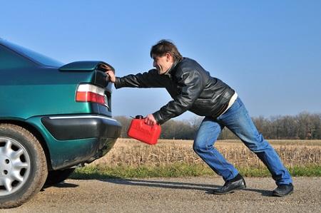 چراغ بنزین پارس, خرابی چراغ بنزین پراید, دلایل روشن شدن چراغ بنزین