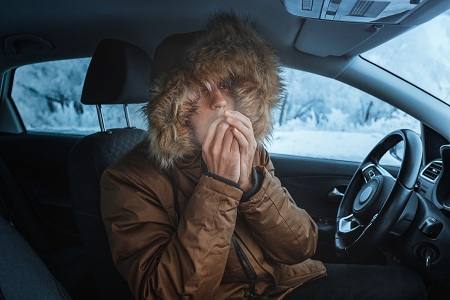 دلایل گرم نشدن بخاری اتومبیل , گرم نشدن بخاری خودرو , بخاری خودرو