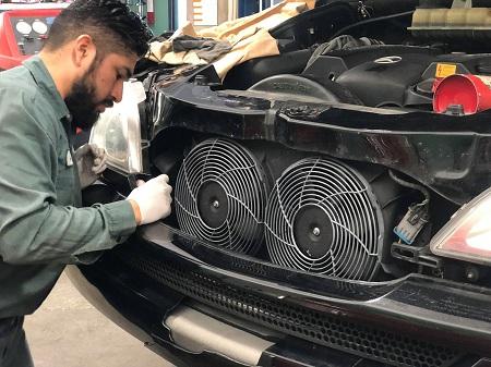 افزایش بیش از حد دمای موتور, پایین آوردن دمای آب خودرو, نحوه خنک شدن موتور خودرو