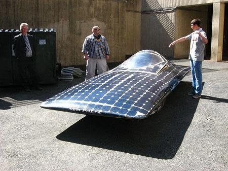 خودرو خورشیدی ایرانی, نخستین خودروی خورشیدی, انرژی خورشیدی